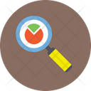 Chart Magnifying Icon