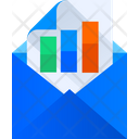 Chart mail Icon