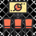 Chart-meeting Icon