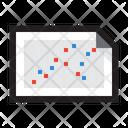 Chart Data Visualization Icon