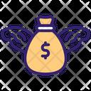 Chasing Money Money Cash Icon