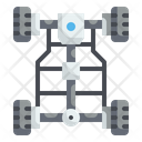 Chassis Automobile Structure Icon