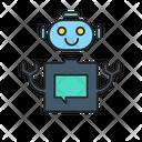 Chat Bot Bots Icon