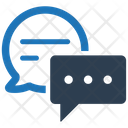 Chat Dialogue Message Bubbles Icon