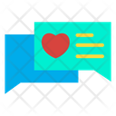 Love Chat Love Chatting Chat Icon