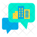 Hotel Chat Chatting Chat Bubble Icon