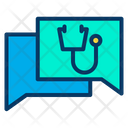Medical Chat Medical Contact Doctor Chat Icon