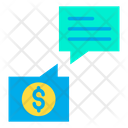 Business Chat Business Chatting Finance Chat Icon