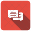 Chat Bubble Message Icon