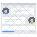 Chat Messenger Website Icon