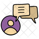 Chat Comments Reviews Icon