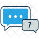 Chat Ask Faq Icon