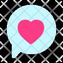 Chat Talk Love Icon