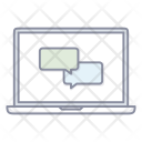 Chat Forum Message Icon