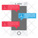 Chat Communication Connection Icon