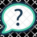 Chat Faq Questions Icon