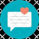 Chat Love Talk Icon