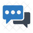 Chat Discussion Conversation Icon