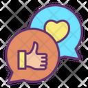 Ilike Love Share Chat Like Icon