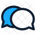 Chat Icon in Dualtone Style