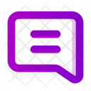 Chat Icon in Gradient Style