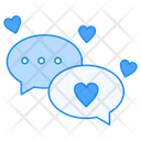Love Chat Messages Icon