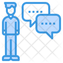 Chat Morning Talk Talk Icon