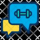 Chatting Conversation Communication Icon