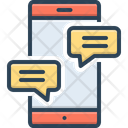 Chat Conversation Gossip Icon