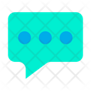 Message Communication Chatting Icon