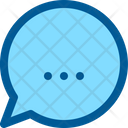Chat Balloon Interface Icon