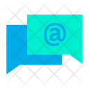 Chat Communication Conversion Icon