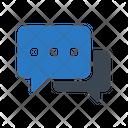 Chat Conversation Bubble Icon