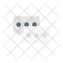 Chat Conversation Support Icon