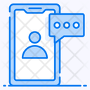 Chat Messaging Mobile Communication Icon