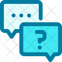 Chat Question Talk Icon