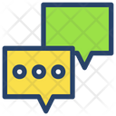 Chat Businessman Project Icon