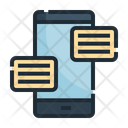 Chat Message Conversation Icon