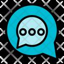 Chat Message Bubble Icon