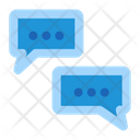 Chat Seo Business Icon