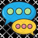 Chat Communication Marketing Icon