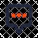 Square Chat Ui Icon Icon