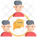 Chat Meeting Communication Icon