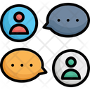 Chat Chat Balloon Chat Bubbles Icon