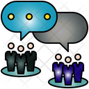 Chat Table Technology Icon
