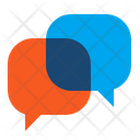 Button Chat Speech Bubbles Icon