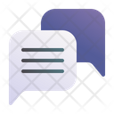Chat Contact Review Icon
