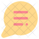 Chat Communications Message Icon