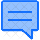 Business Finance Chat Icon