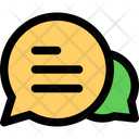 Chat Message Bubble Icon
